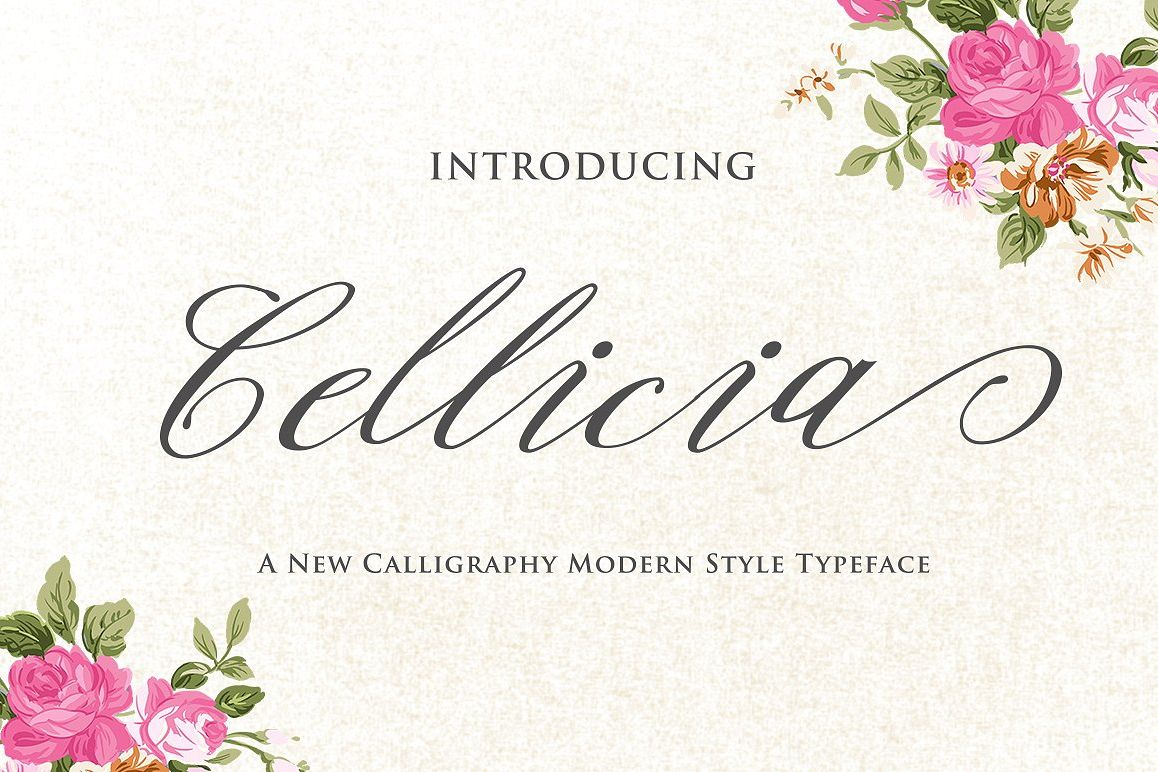 Cellicia Script example image
