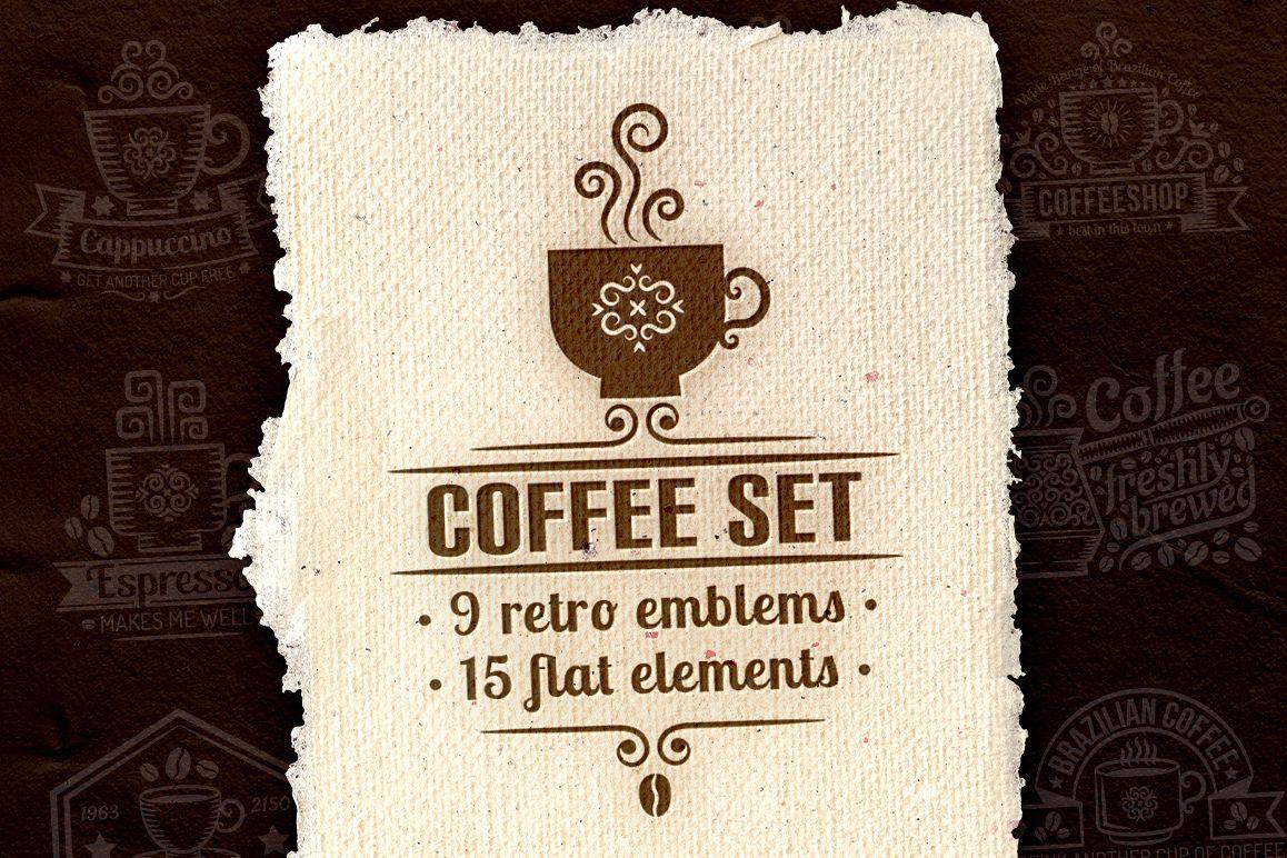 Coffee set example image