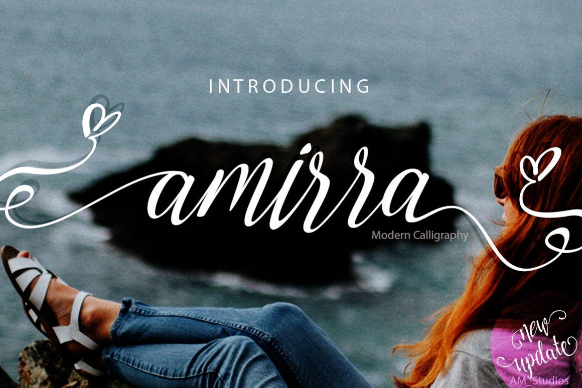Amirra Script example image