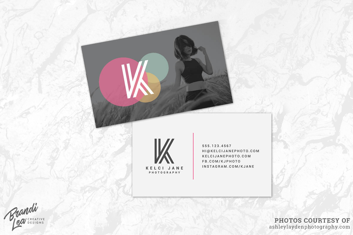 Photography Business Card Template By B Design Bundles - Photography business card templates