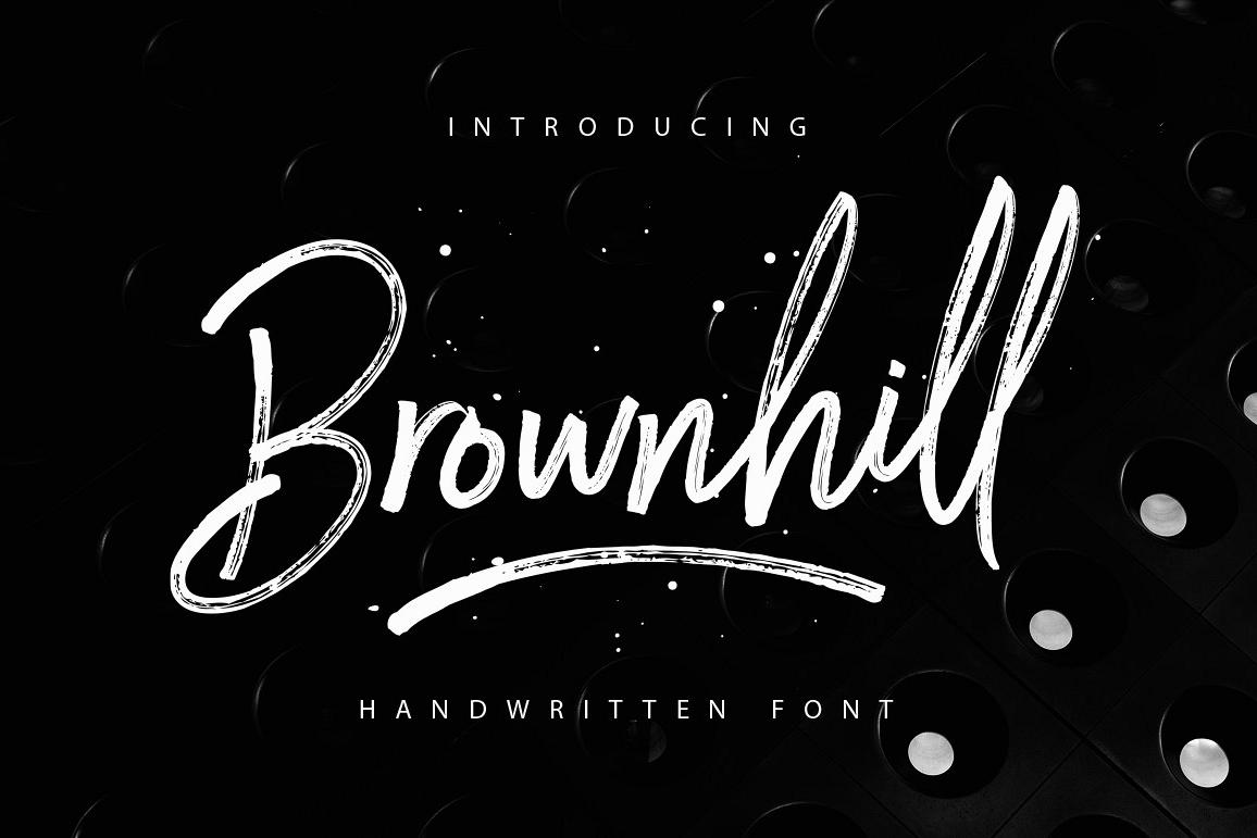 Brownhill Script example image
