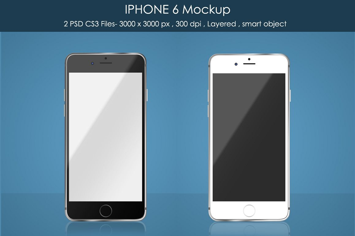 IPHONE 6 Mockup example image