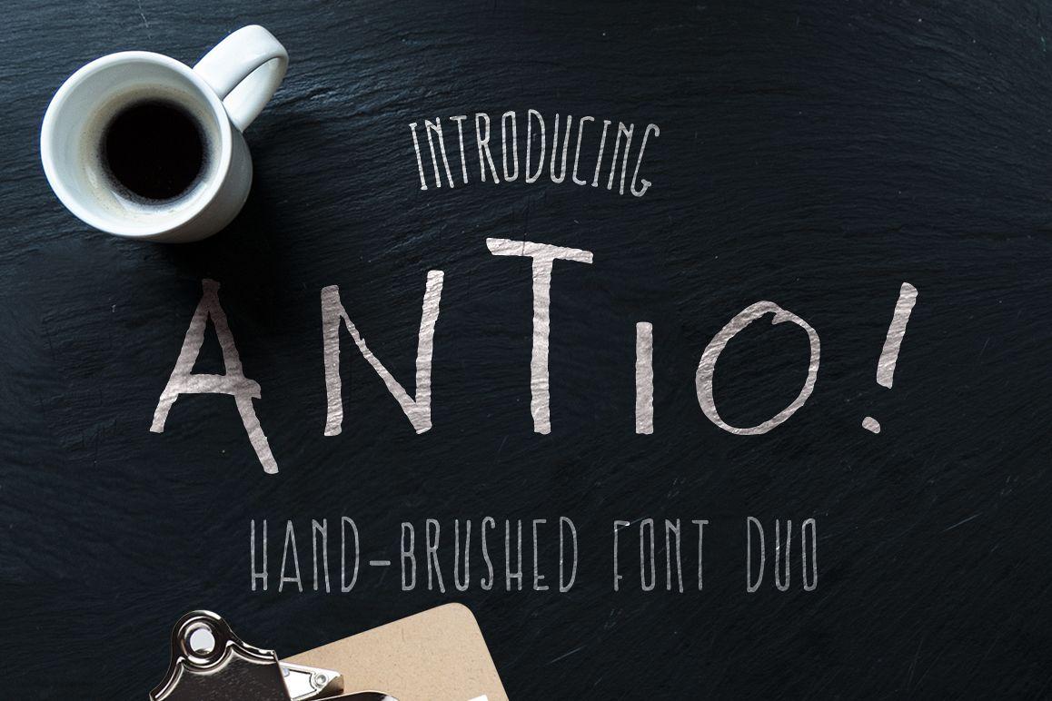 ANTIO! Prokopis | Font Duo example image