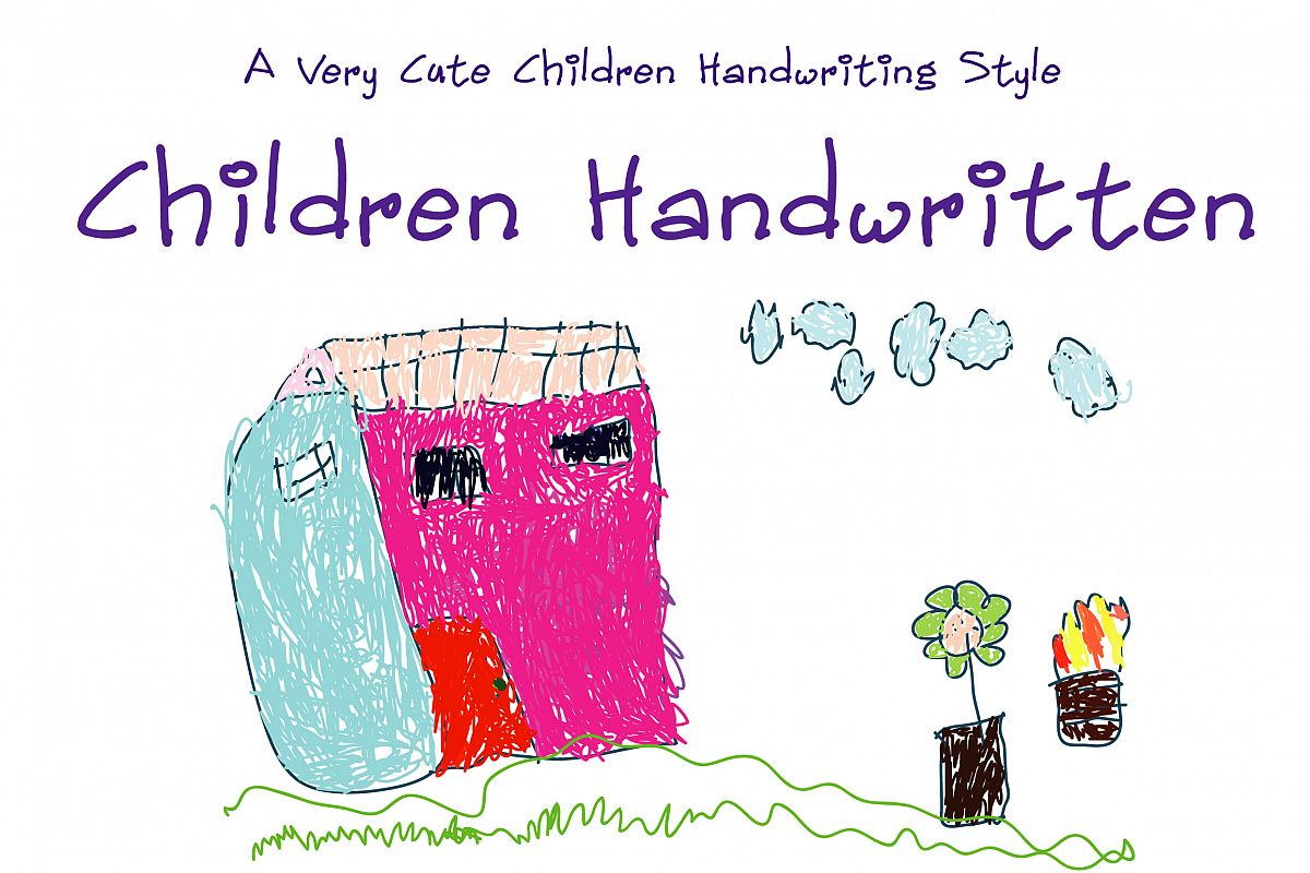 Children Handwritten example image