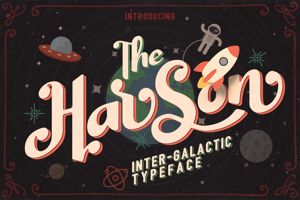 Harson: Inter-Galactic Interface example image