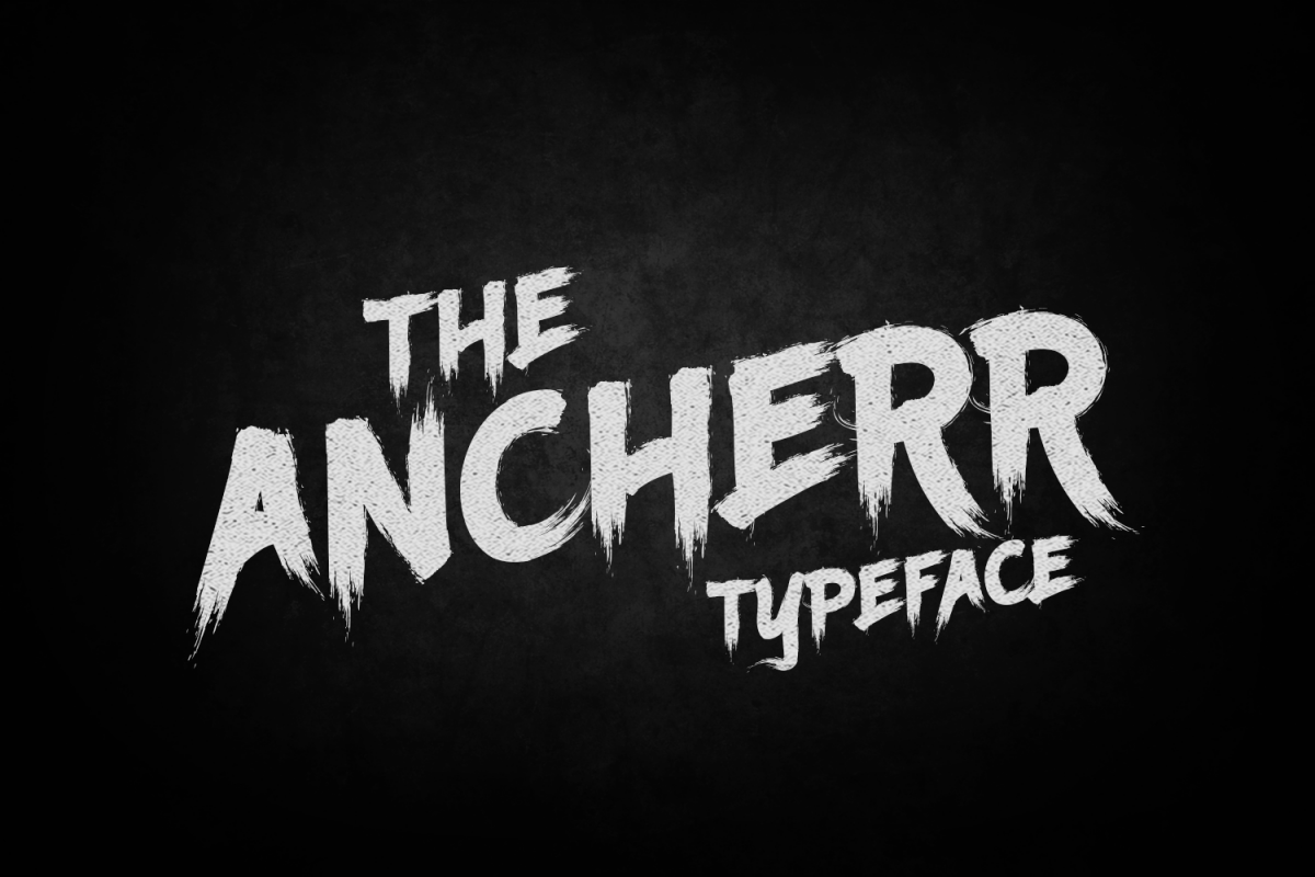 Ancherr Typeface example image