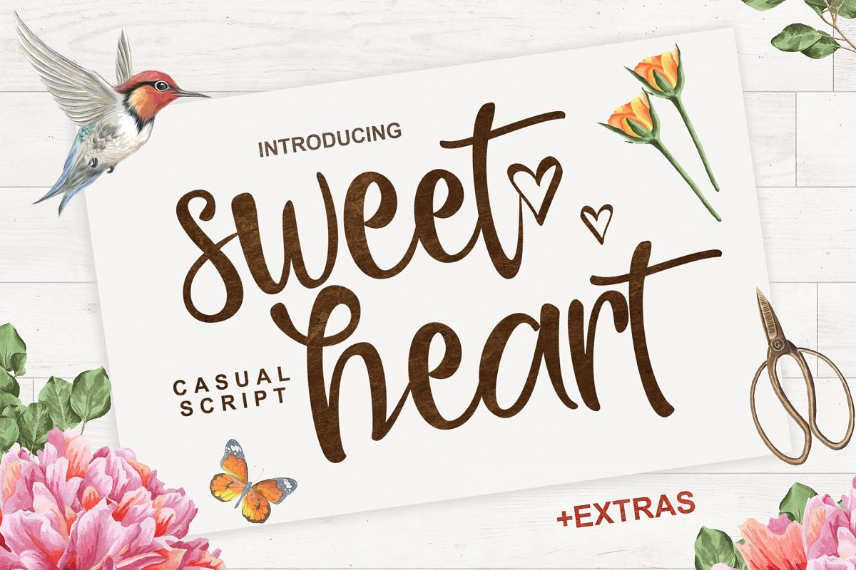 Sweet Heart  + Extras example image
