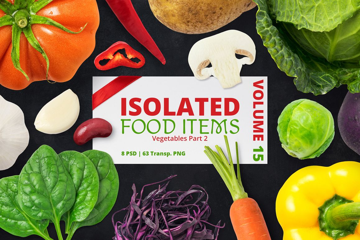 Isolated Food Items Vol.15 example image