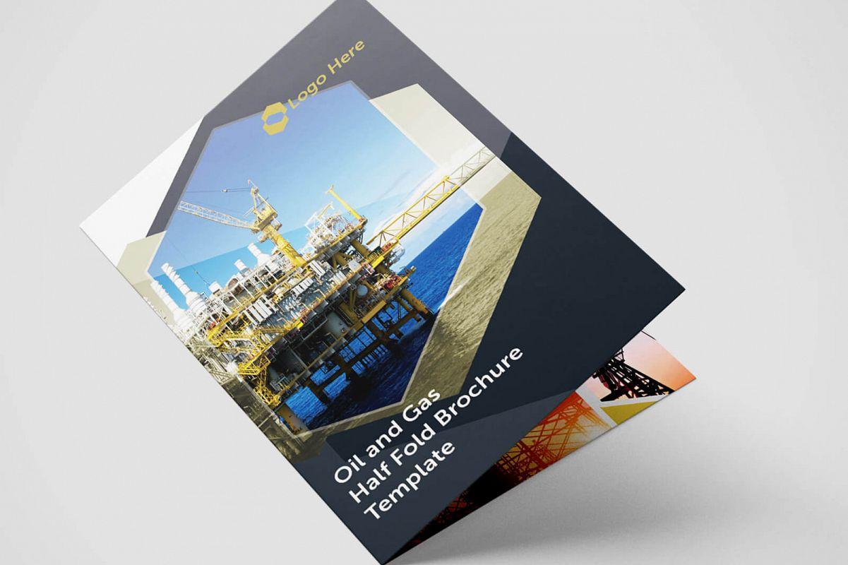 single fold brochure templates