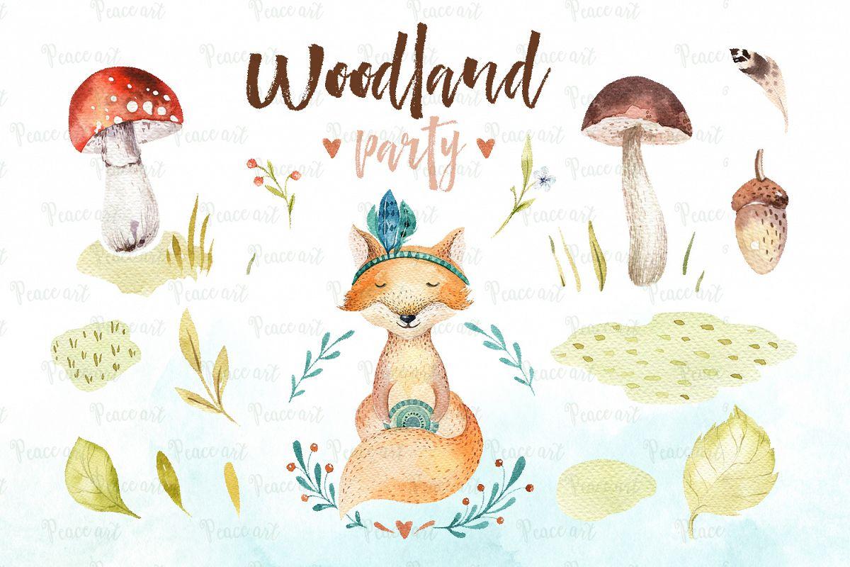Woodland party I example image 4