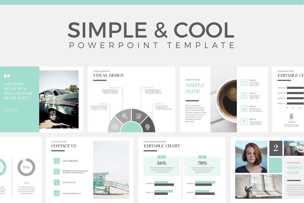 Simple cool powerpoint template by pa design bundles simple cool powerpoint template example image toneelgroepblik Gallery