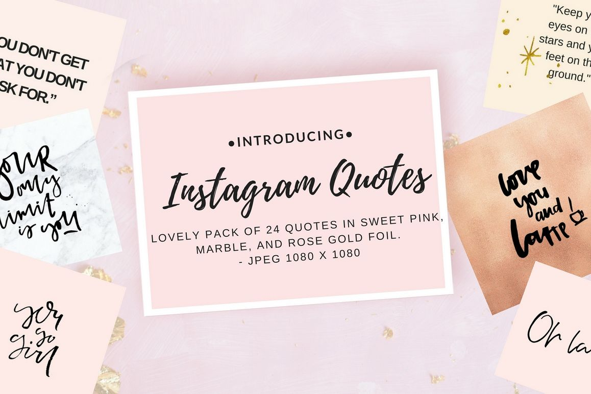 Instagram quote pack example image