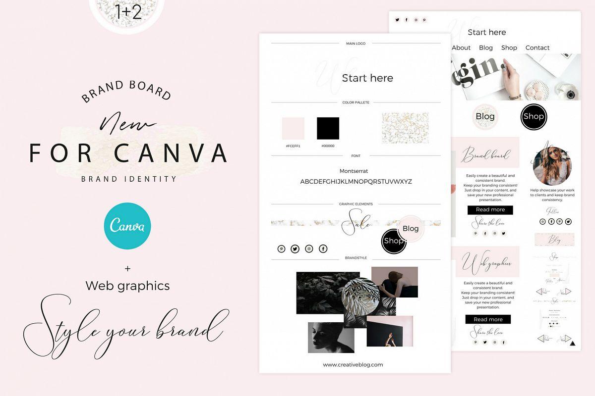 Brandboards + Web graphics example image