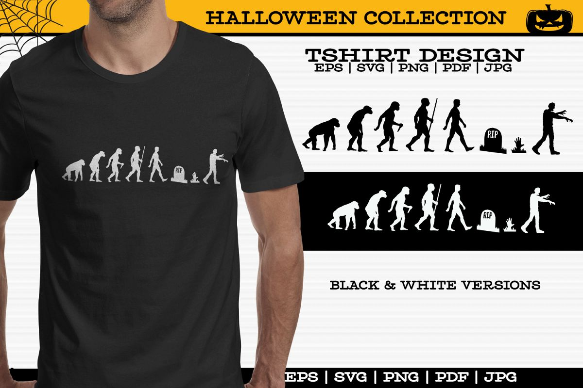 Zombie Tshirt example image