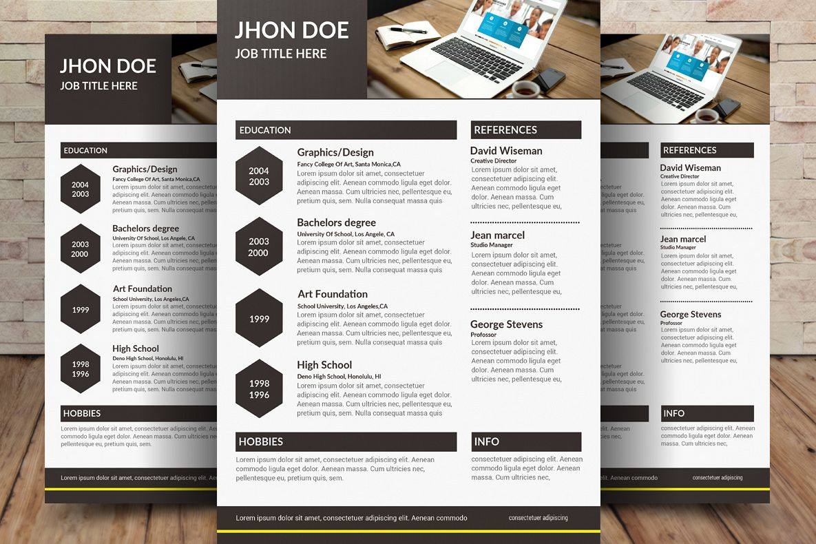 Resume CV example image