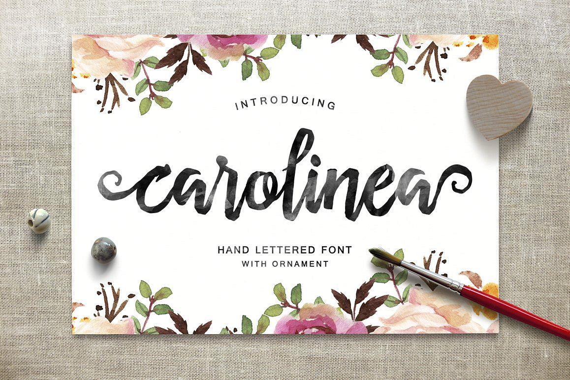 Carolinea Typeface example image