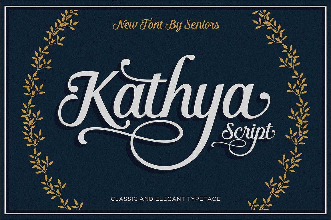 Kathya Script example image