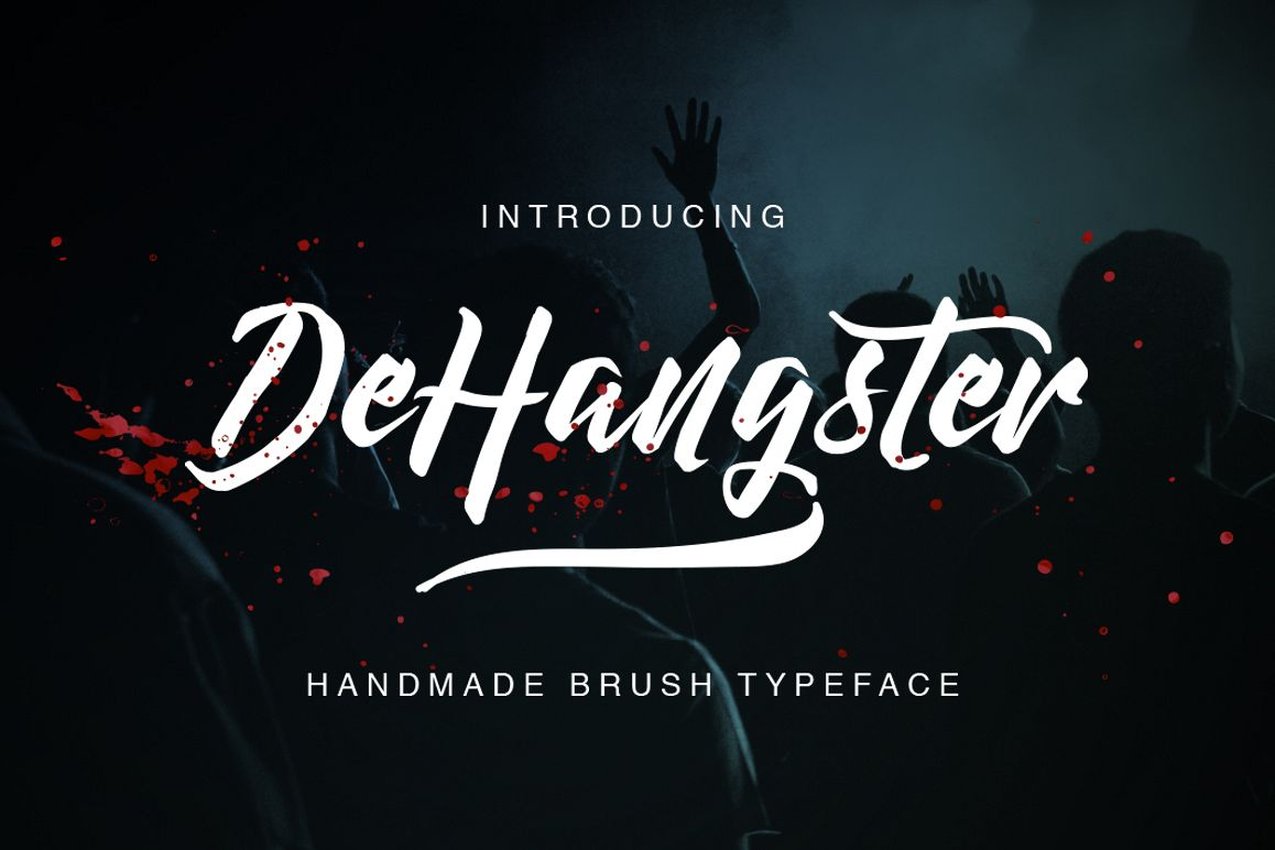 DeHangster Typeface example image