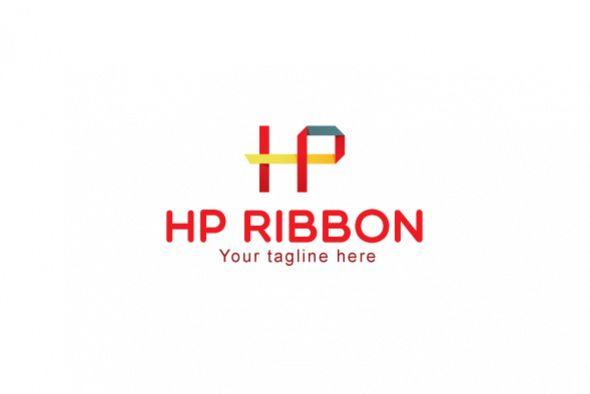 HP Ribbon - Origami Alphabetical Letter | Design Bundles