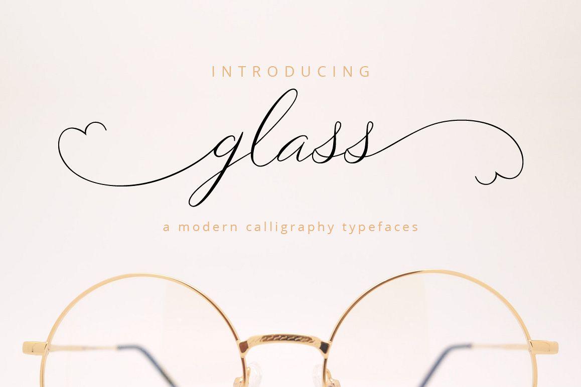 Glass Script example image
