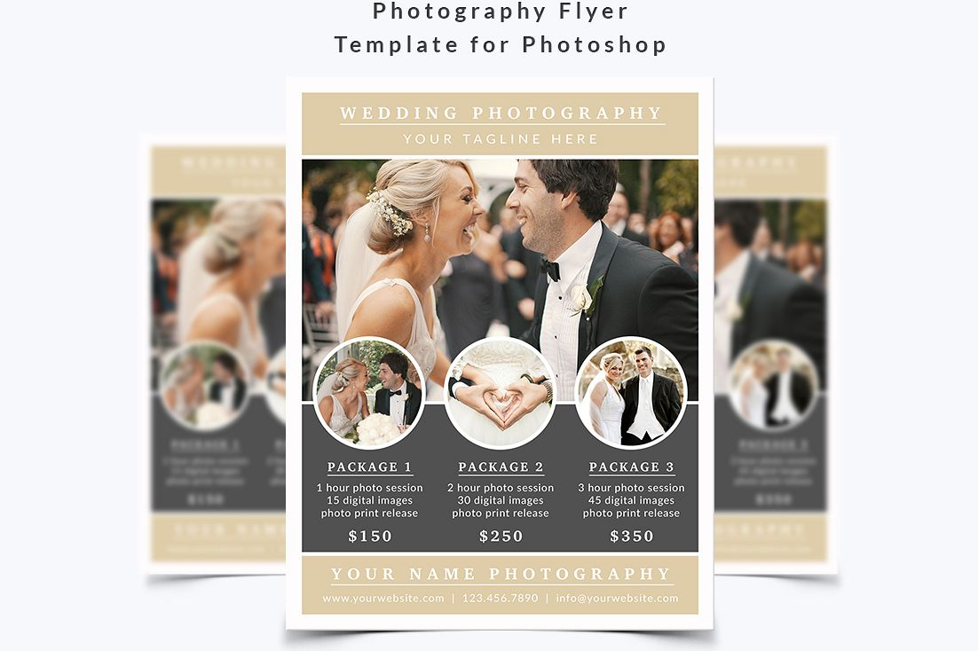 Photography Flyer Template by NM-Design | Design Bundles