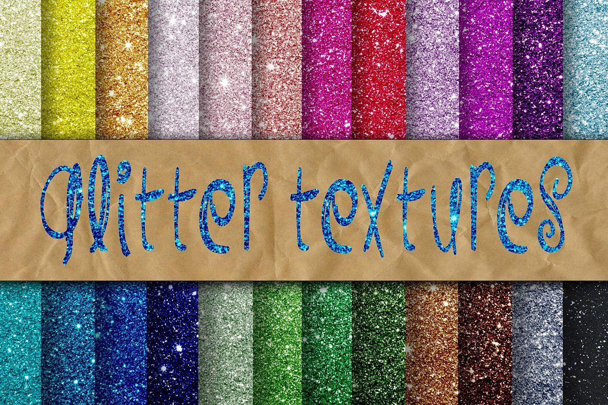 Glitter Digital Paper example image