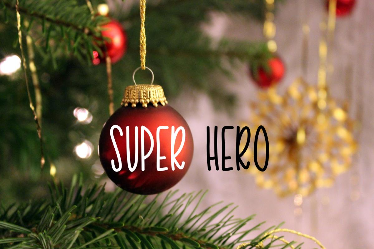 Super Hero example image