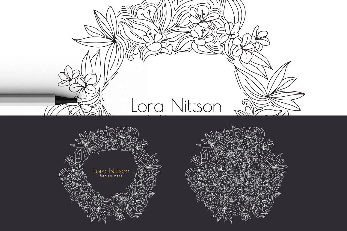 12 Floral design elements/ Pro example image 5