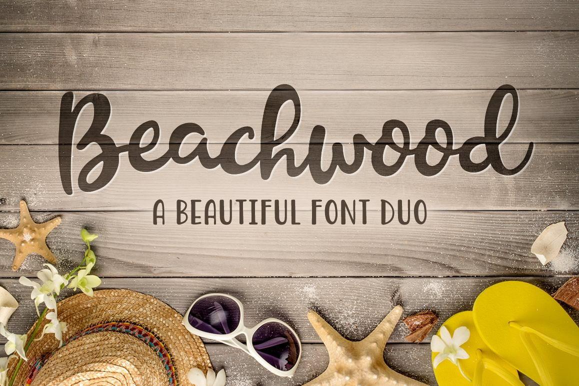 Beachwood Font Duo example image