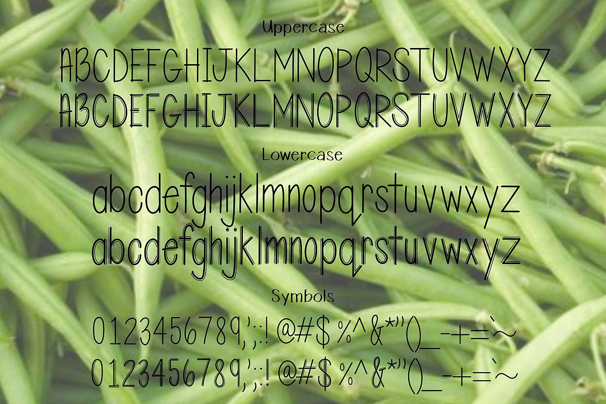 String Bean example image 2