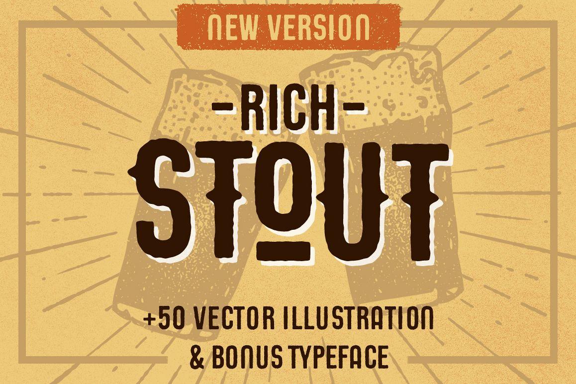 STOUT Typeface example image