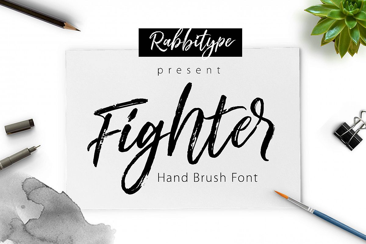 FIGHTER Brush example image