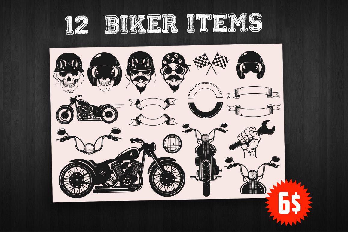 Bikers Logo Bundle example image