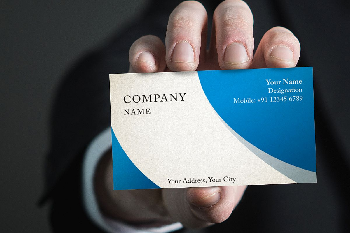 Photorealistic business card mockup set design bundles photorealistic business card mockup set example image reheart Choice Image