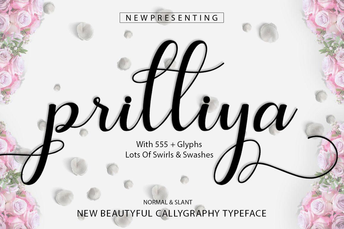 Prilliya Script example image