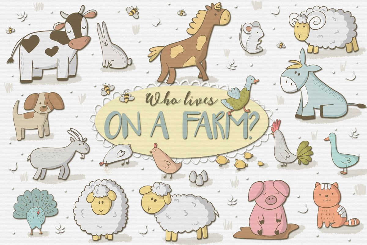 Who Lives on a Farm example image
