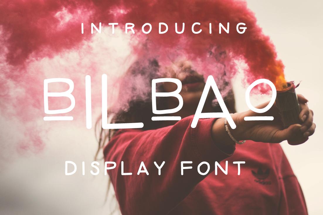 Bilbao | Playful Handwritten Font example image