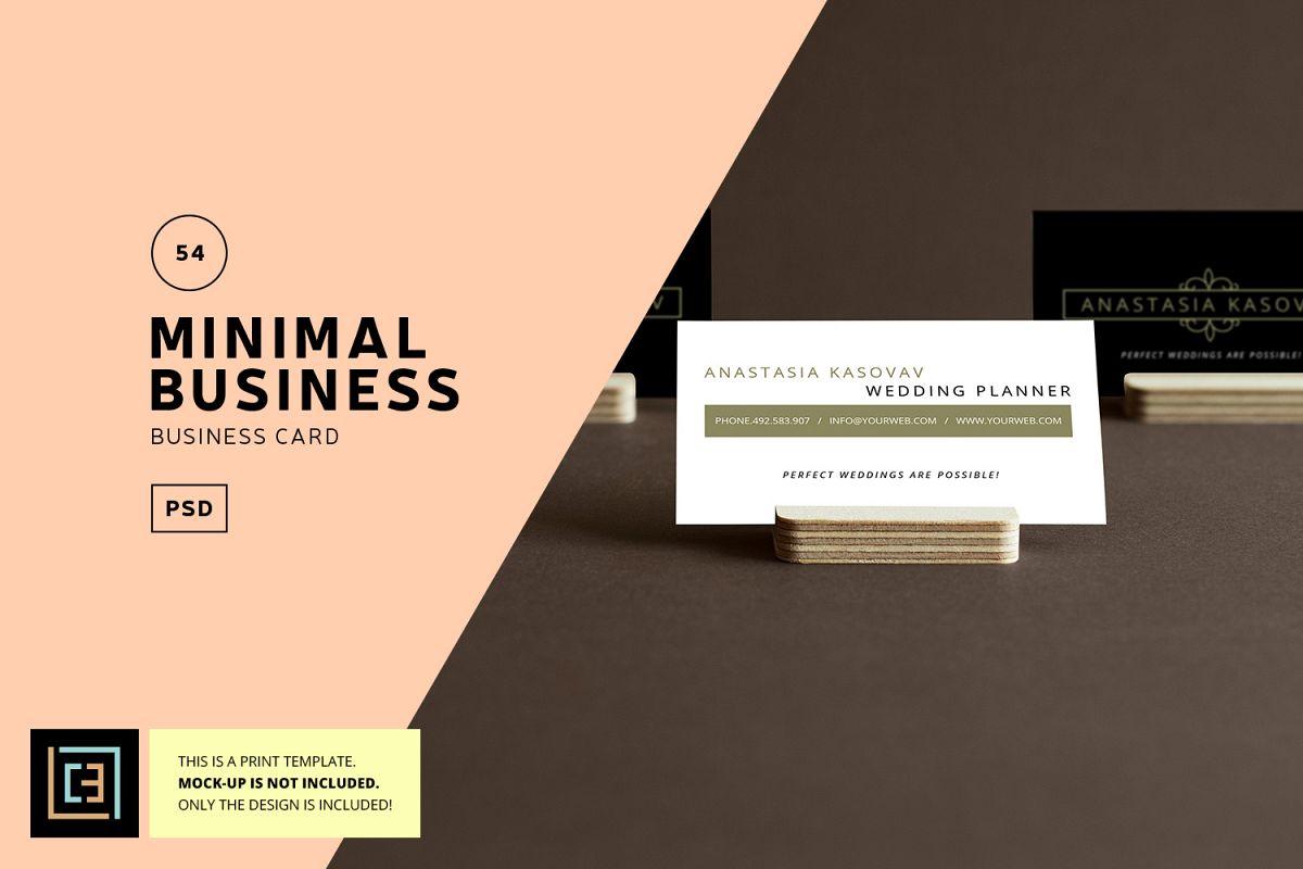 minimal business card - Ideal.vistalist.co