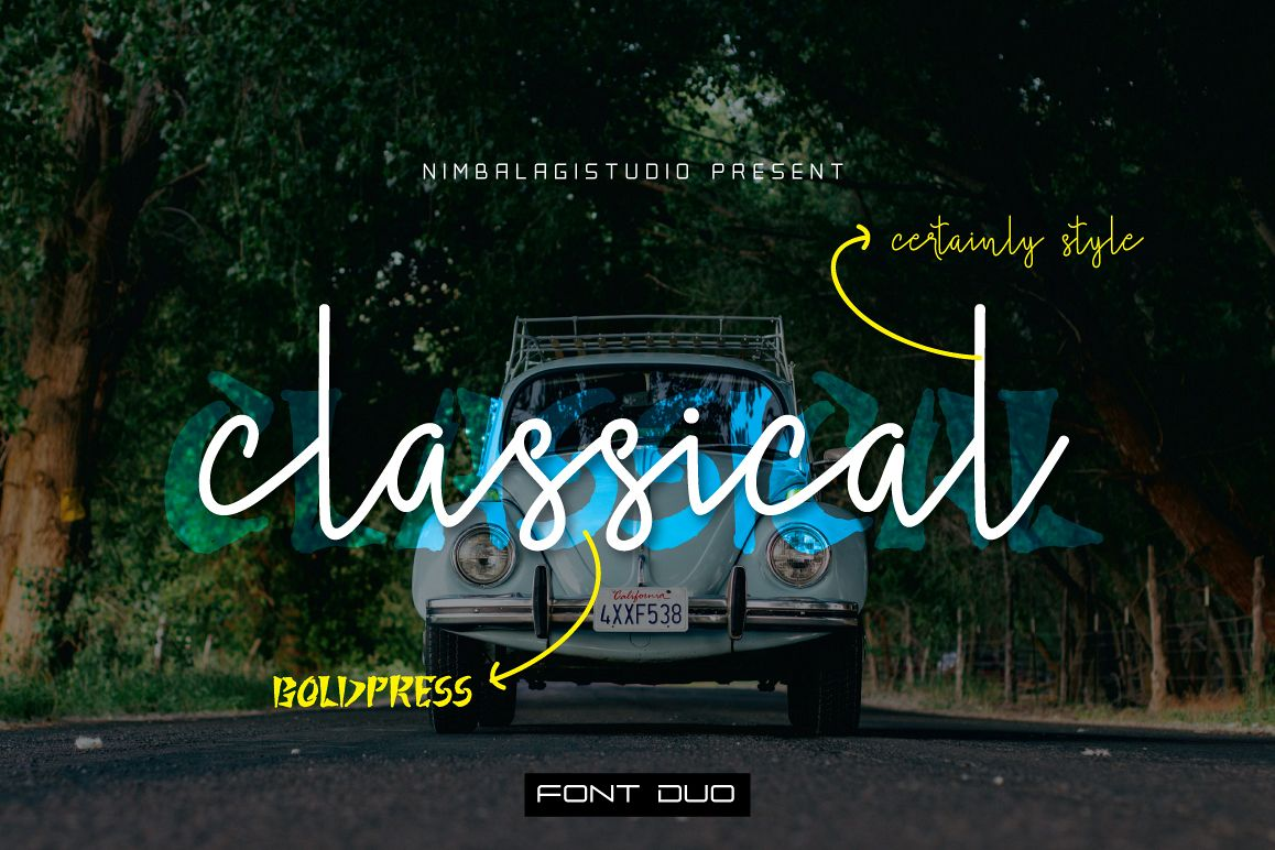 Classical - Font Duo example image