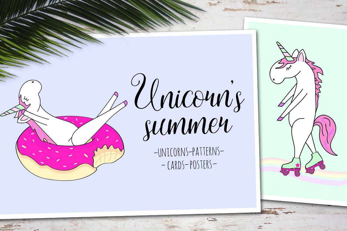 Unicorn's summer example image