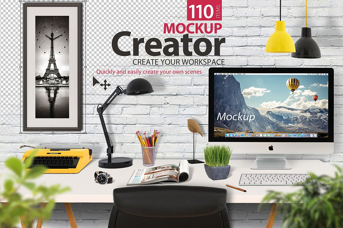 Mockup Creator (Scene Creator) example image