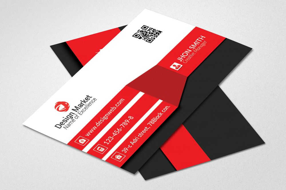 Corporate Business Cards by Designhub719 | Design Bundles