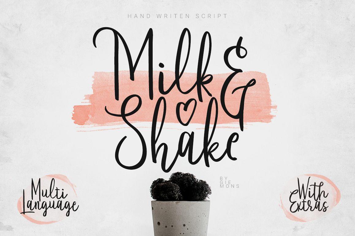 Milkandshake Script example image