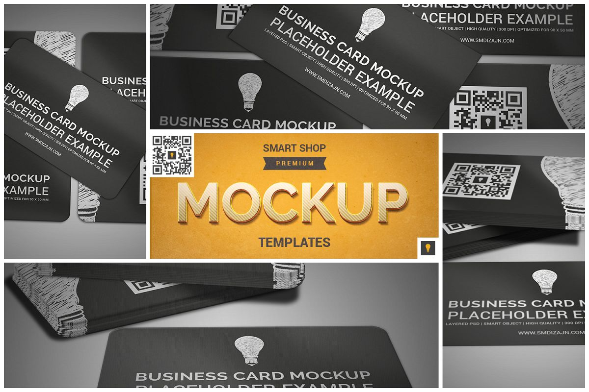 Business Card Mockup by SHOCKY DESIGN | Design Bundles