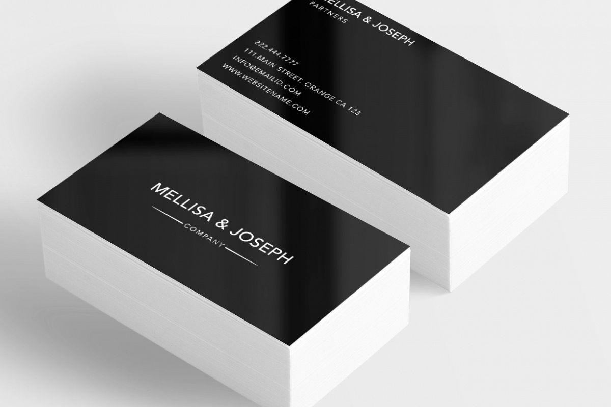 Classy company business card by Creativ | Design Bundles