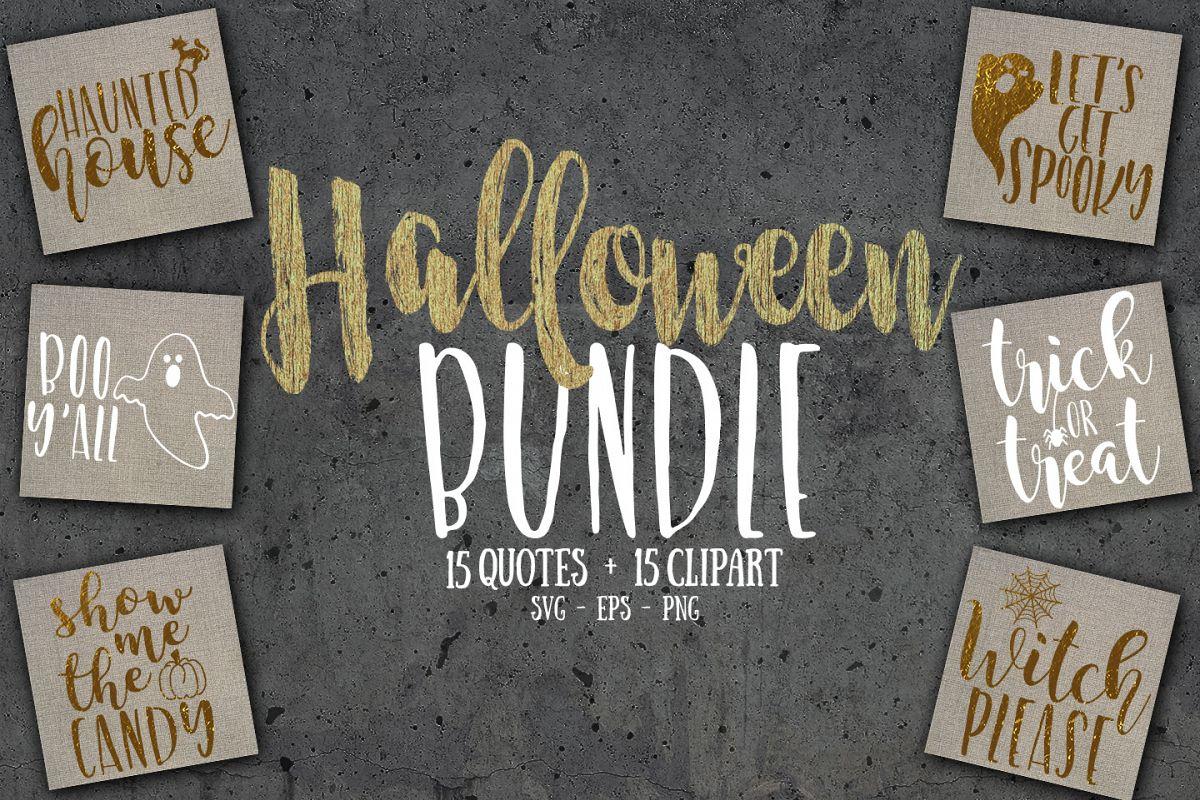 Halloween SVG bundle, PNG & EPS example image