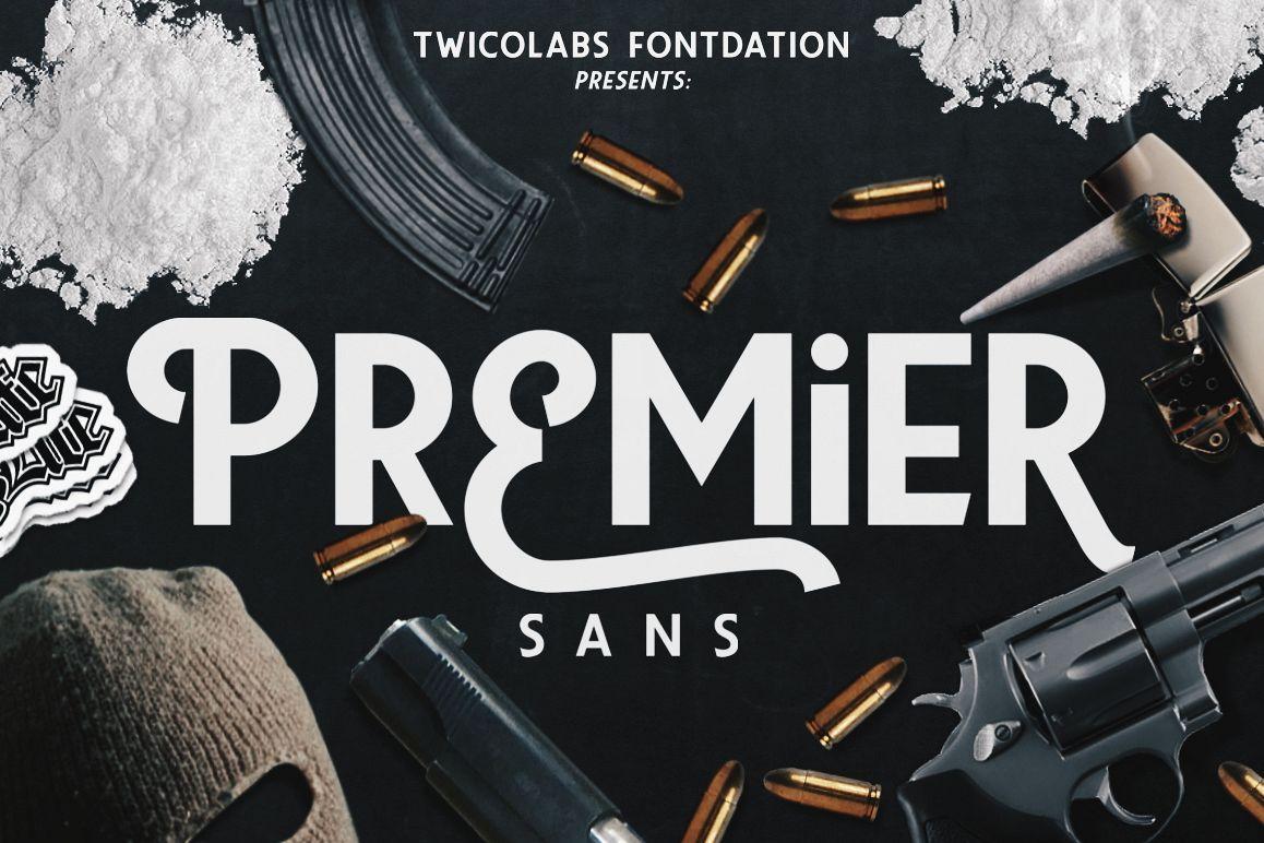 Premier Sans example image