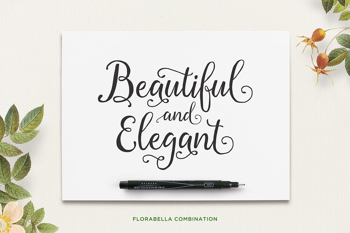 Florabella Typeface example image 2