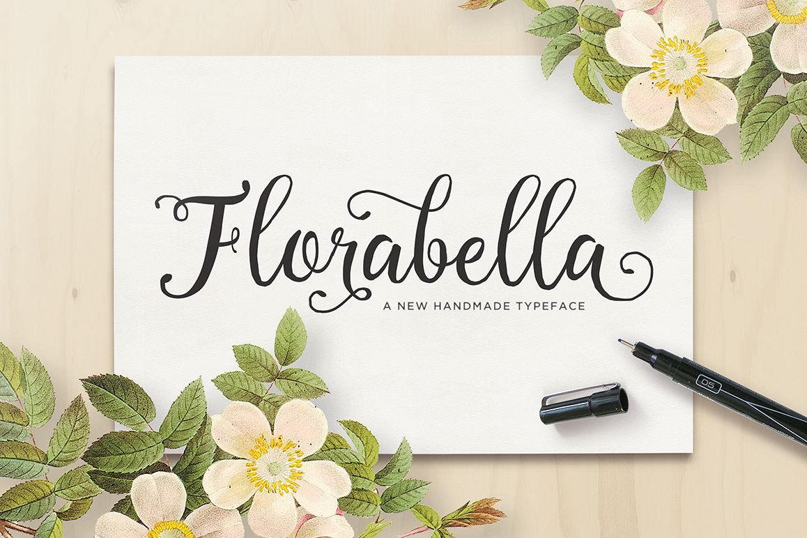 Florabella Typeface example image