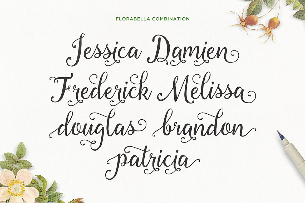 Florabella Typeface example image 3